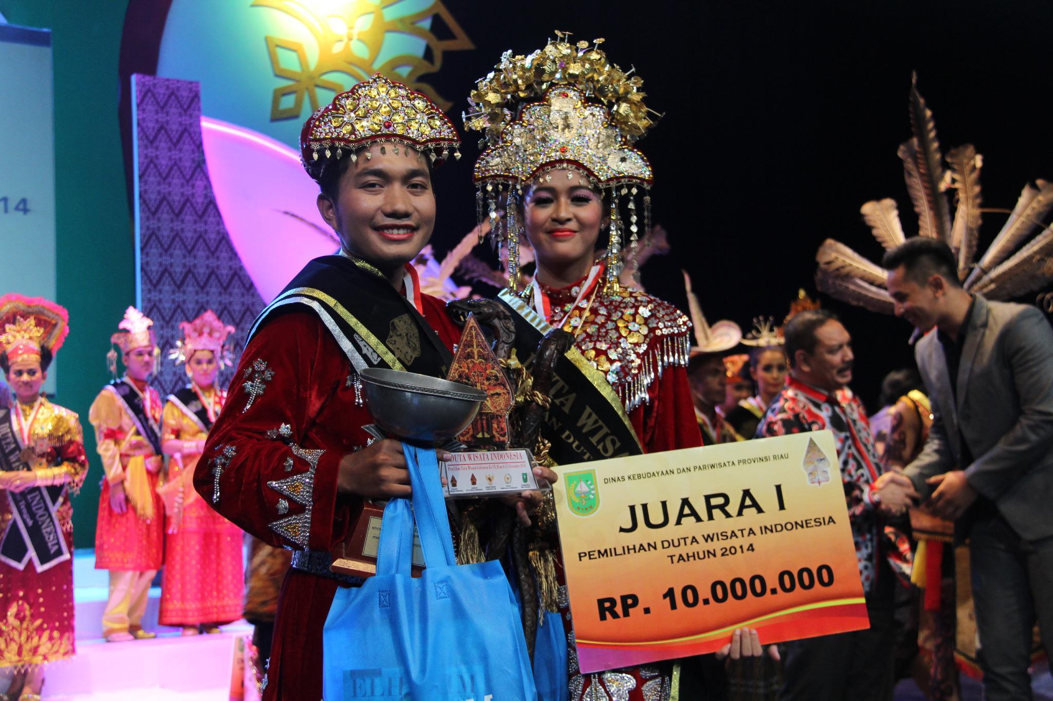 Duta Wisata Bangka Belitung Menangi Pemilihan Duta Wisata Indonesia 2014