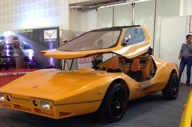 インド初のEVスポーツカー「スーパーノヴァEV」 http://t.co/YPP87ifRkp http://t.co/GsGfwkqVNP
