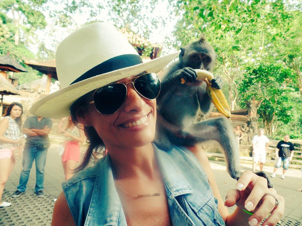 Monkey jungle forest #bali http://t.co/QsGDjYQ9a4