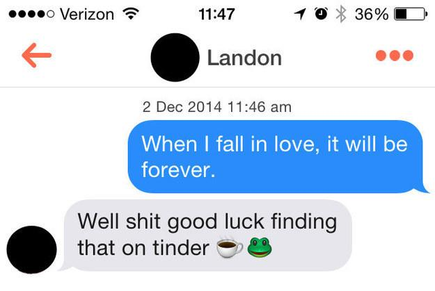 Buzzfeed On Twitter This Is What Happens When You Reply To Tinder