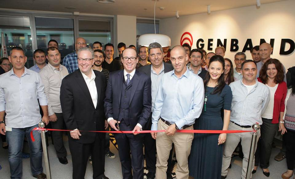 Gr8 time with @walshgenband & other @GENBAND execs, at the grand opening of our new offices. @TimorRousso @bflybuzz http://t.co/bvubatu7PQ