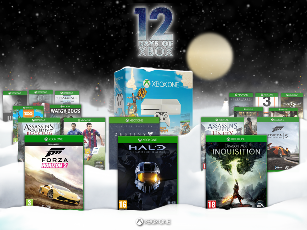 The grand finale of  '12 Days of Xbox' is here!  Retweet for a chance win an #XboxOne and almost 20 epic games! http://t.co/XB4D8XX2rJ