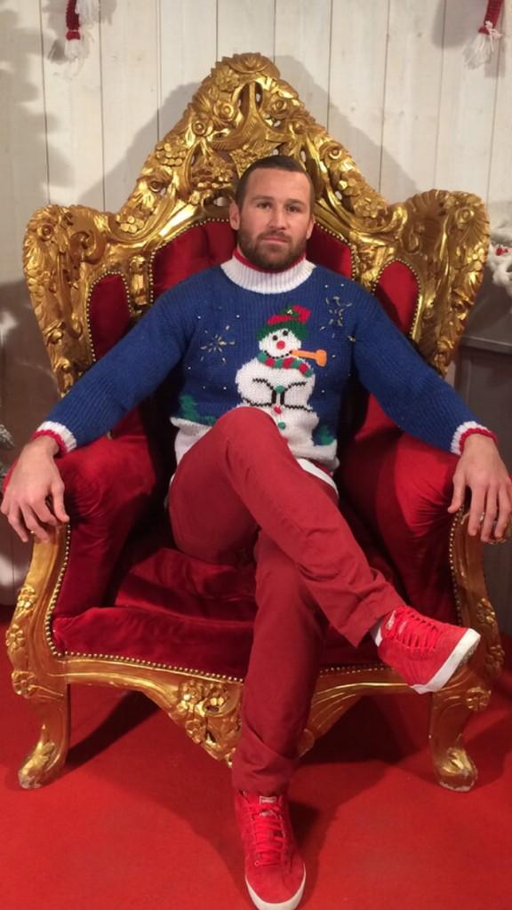 The King of Mayol on his Throne!!