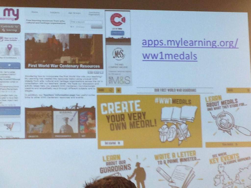 @aliglew shows My Learning national resource. CHK http://t.co/5SpseRmzlK. Got app for phone access too! #DLFWW http://t.co/KN7hzF5Y39