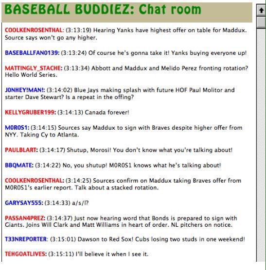 Andrew Greene On Twitter Baseball Chat Room In 1992 Maddux