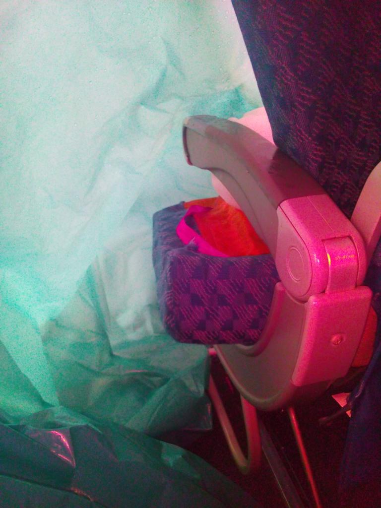 EL miedo de volar en American Airlines
