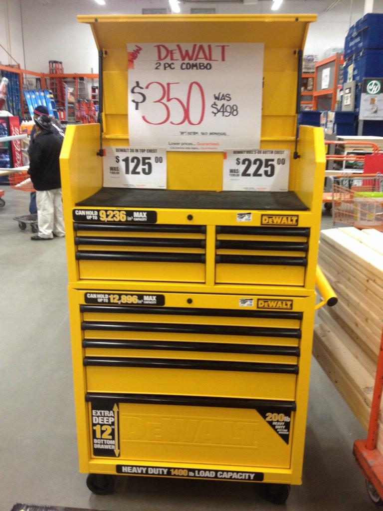 Tim Roque On Twitter Quot Clearance Dewalt Tool Box