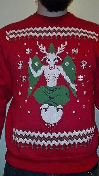 Elvira On Twitter Now Heres An Ugly Xmas Sweater You Wont Find