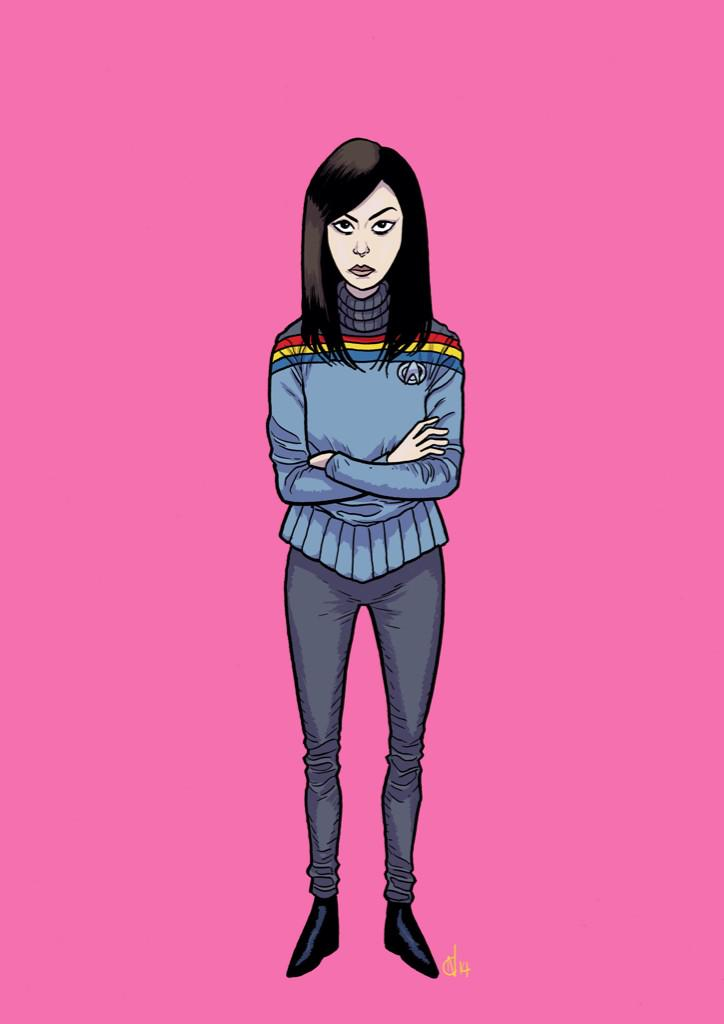 Here you go @wilw, I turned you into Aubrey Plaza. Or turned Aubrey Plaza into you. Either way. #ParksAndTrek http://t.co/oniVh01tAz