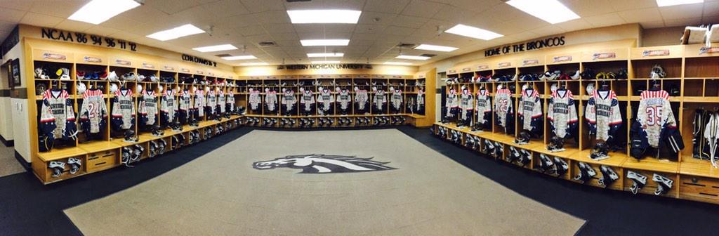 WMU Hockey On Twitter The Locker Room Is Ready Are You BeatCC