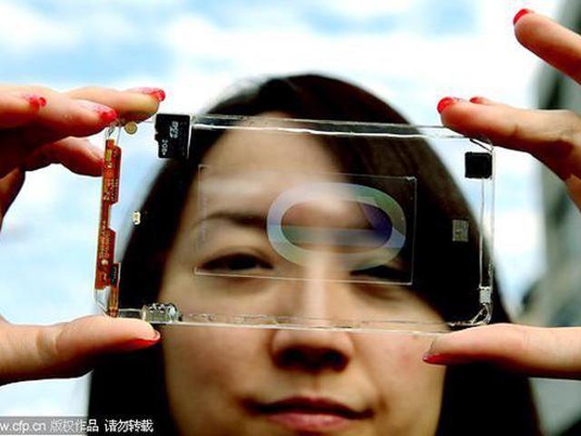 Smartphone trasparenti: come in un film di fantascienza (Video)