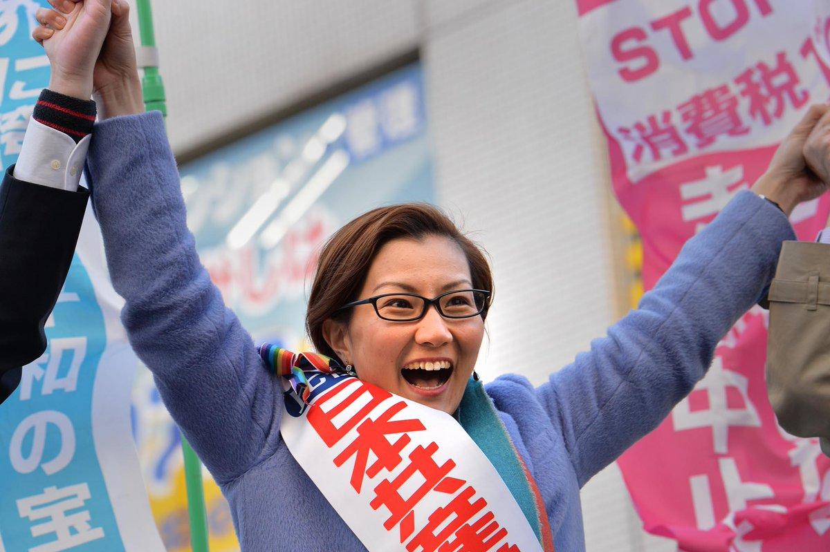 日本共産党東京比例区池内さおりさんと小池さん、気迫の訴え(八王子駅前) http://t.co/zlIJlUwqjn