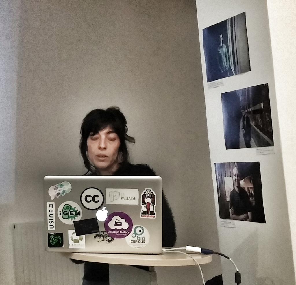 Ana Delgado on How hacks are political ? @lapaillasse  #DIYBio http://t.co/IdOFrT4Tnx