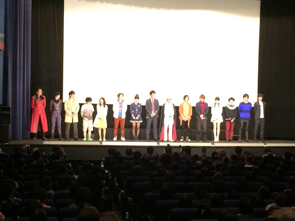 ドライブ&鎧武Movie大戦フルスロットル公開初日を無事迎え、東京舞台挨拶終えました。皆さんの声援が暖かくで元気をたくさん頂きました!今日映画を観てくださった皆様いかがだったでしょうか⁉︎^ ^ 明日は関西❗️トップギアで周ります😊💥