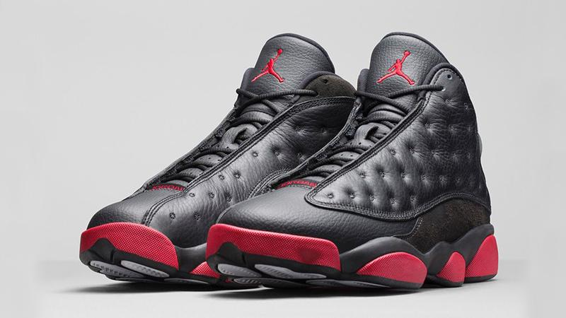 "ef4de4cc8d32d0 "" footlocker  The Air Jordan 13 Retro  Black Gym Red  is now available! BUY  HERE  http   bddy.me 1wmlCHV pic.twitter.com KDZbE5zQS4""hoop"
