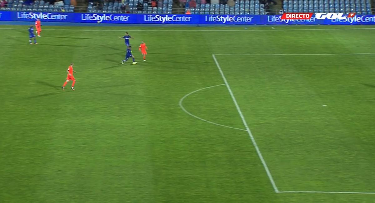 Y justo en ese momento se acaba el partido. El empate le ha sabido a poco al Getafe http://t.co/sXAoJM6LB3