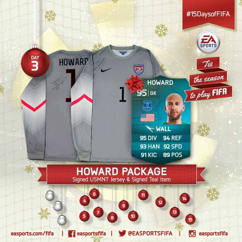 Day 3: @TimHowardGK package! FOLLOW @EASPORTSFIFA and RETWEET for a chance to win. #15DaysofFIFA http://t.co/m82TGn3lN5