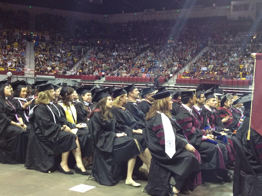 View from the floor. #nmsugrad http://t.co/YEGOsDrjqo