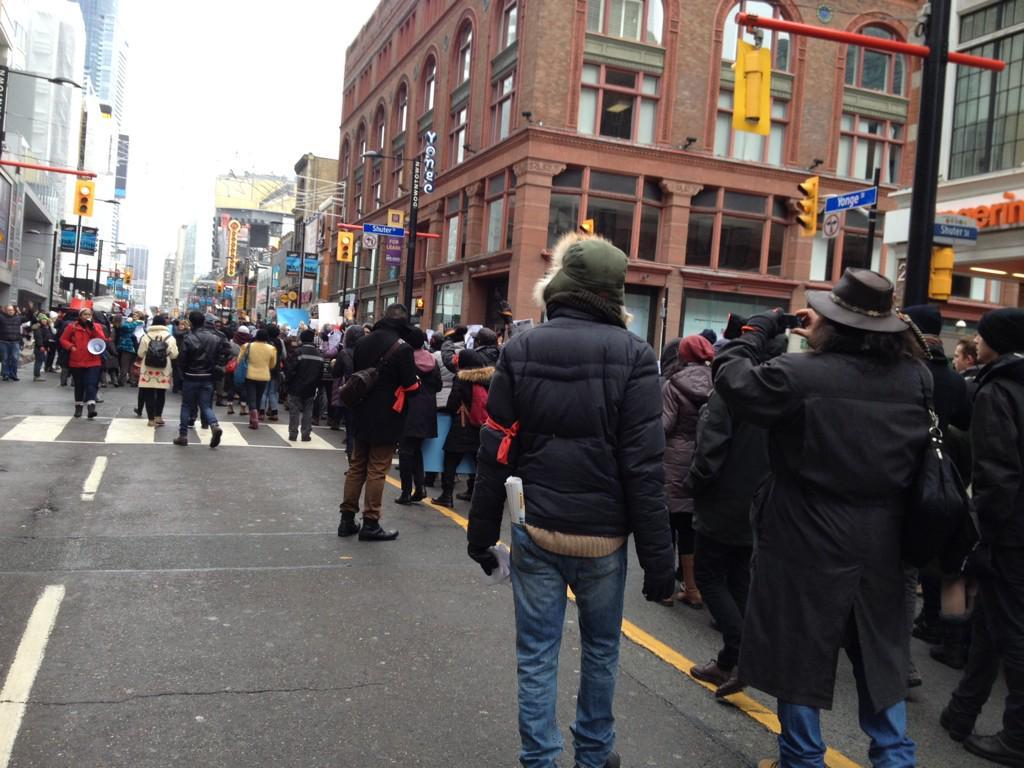 Toronto world pride 2014 Caribbean Gay folks get on bad on yonge.