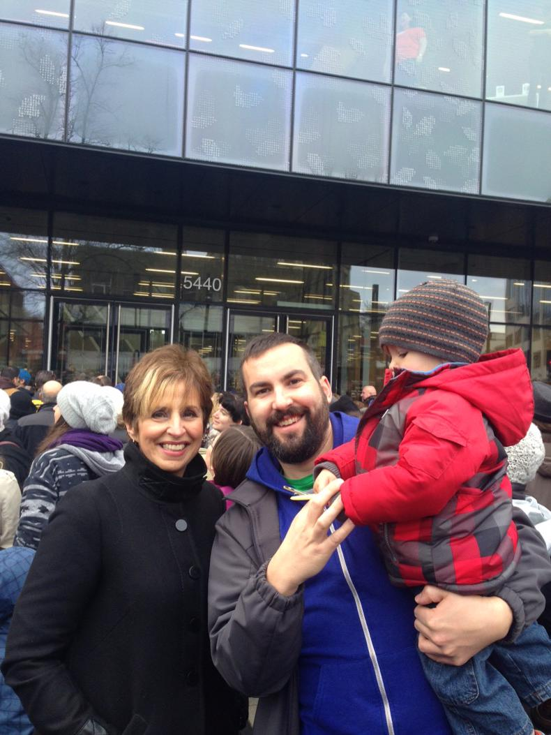 Enjoyed the anticipation of the new Hfx Central Library opening today with @SBTSHalifax #sharethewow #coleharbourboy http://t.co/zEAvscDjjE