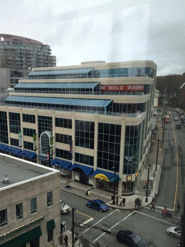 A view from the new @hfxpublib: @CWAtlantic office supporting local development #bebold #Halifax #CRE #ShareTheWow http://t.co/afUDN1h7eG