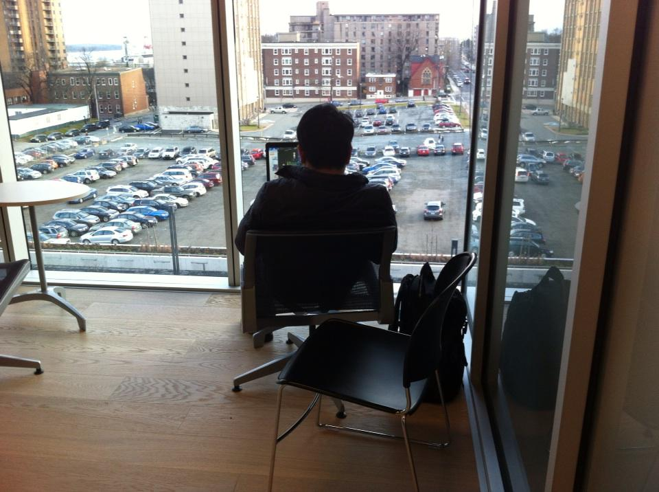 A private nook to do work and enjoy a great view, even on a busy day. #ShareTheWow http://t.co/QaC6zMpX3N