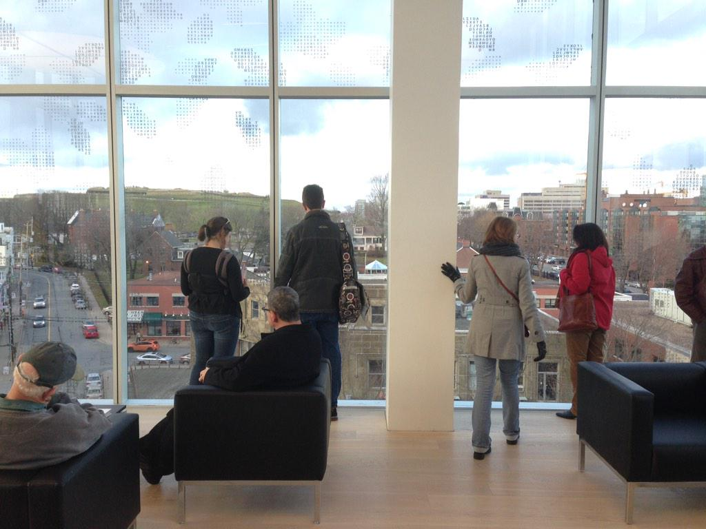 The community enjoying their new Living Room #ShareTheWow @hfxpublib http://t.co/Bp1bs4Sa3p
