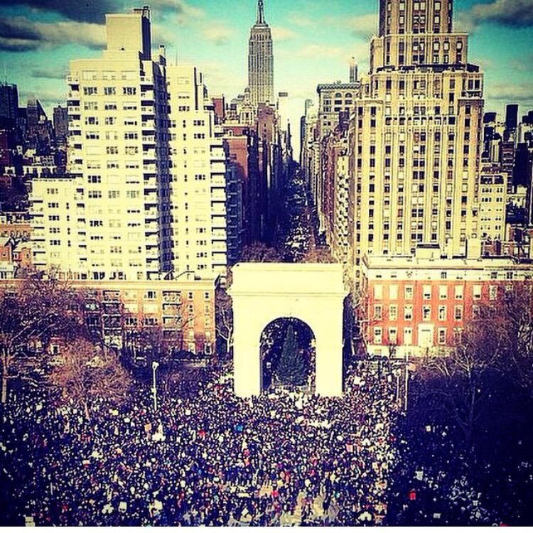 So proud of NYC for coming out and marching for justice!!! #MillionsMarchNYC #JusticeLeagueNYC http://t.co/eqAqz6atv0