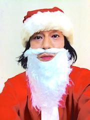 昨夜は川崎から新宿へバースデーハシゴマンでした🎂 サンタマンな私に全く気付かないハクエイマン...(笑)  ハシゴに協力してくれたヘッドワックス、ペニシリンの皆さん、ユークリッドさん、マッドスターレコーズ、スタッフみんなに感謝します☆