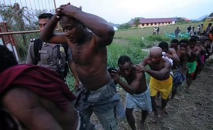 Put an end to slavery in West Papua. Put an end to the genocide of the West Papuan people. #BlackLivesMatter http://t.co/c3sj7KYZRJ