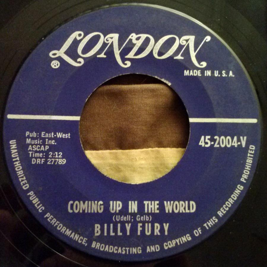 billy fury discography at discogs