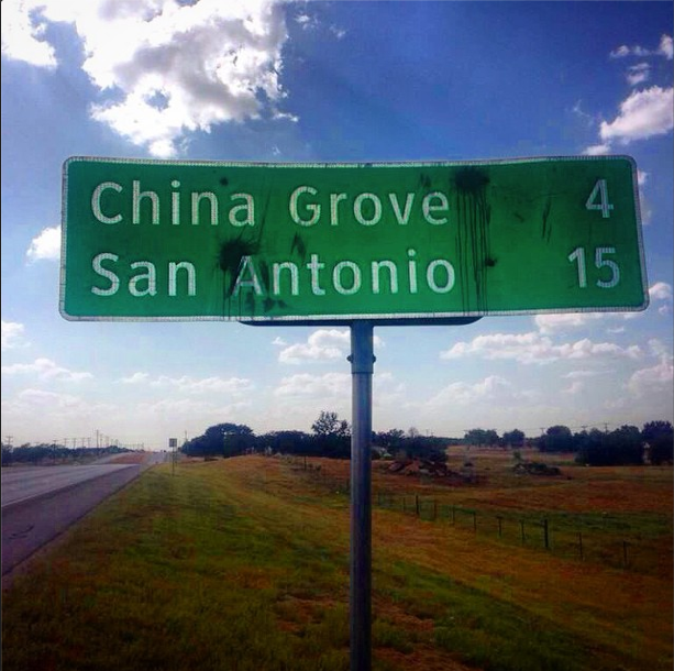 When the sun comes up...  #sanantonio #chinagrove http://t.co/ScMqk0135t