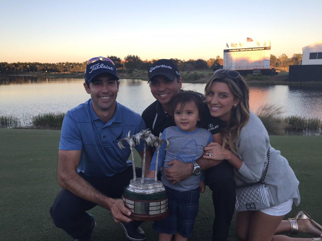 So fun to close 2014 in style at the @FTShootout !  @JDayGolf was just sensational #SaladPartner #DropBombs http://t.co/2anRik8Rbo