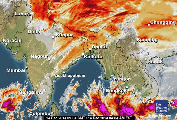 "Kunda Dixit on Twitter ""Lot more water vapour left in this westerly"