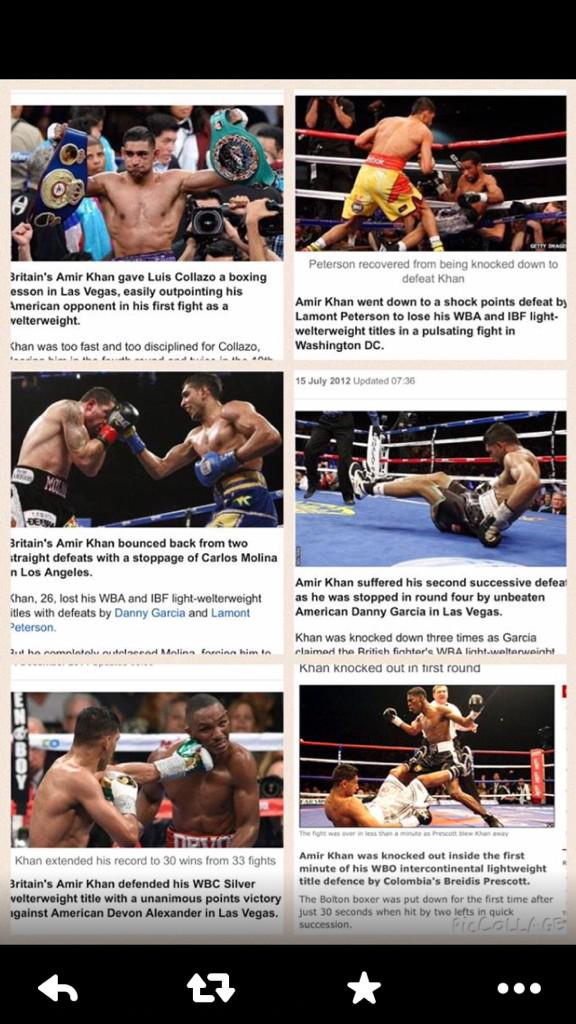 """When @AmirKingKhan wins he is """"Britian's Amir khan"""" when he loses he is just """"Amir Khan"""" @BBCSport #Disgusting RT RT http://t.co/w1Fqv0XKvk"""