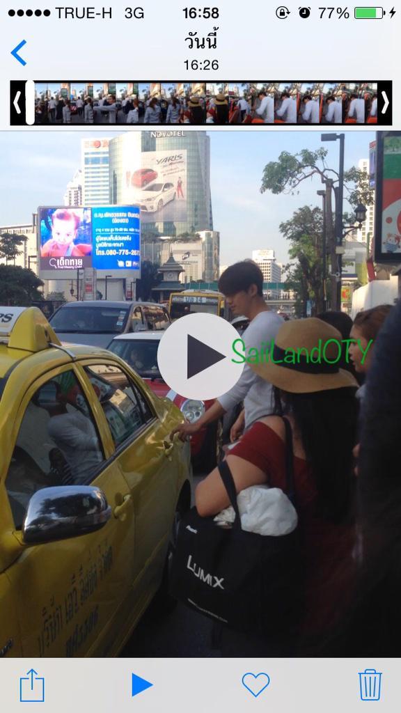 แท็กซี่ล็อครถ ไม่ให้พี่แทคขึ้น 5555555555 http://t.co/EGKapxuuWH