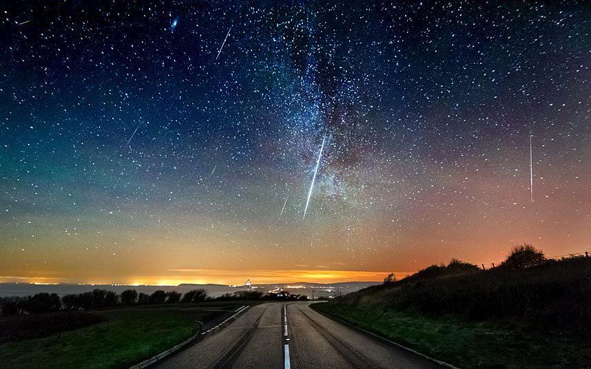 Geminidi (pioggia di meteoriti), le stelle cadenti di Natale con la Super Luna Piena