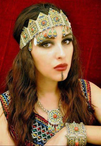 femme berbere algerie