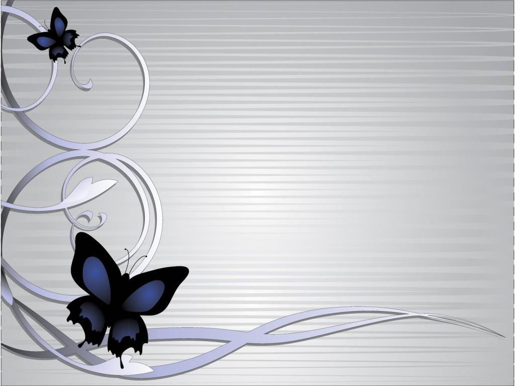"Free PPT Backgrounds on Twitter: ""Butterflies on Light ..."