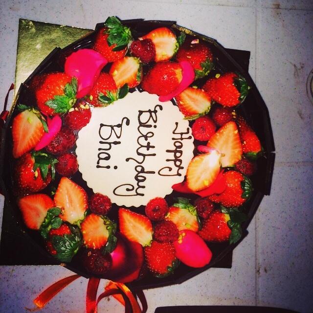 Vishal Tardeja On Twitter Beingsalmankhan Birthday Cake Pic For