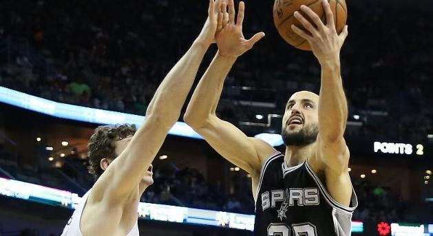 NBA | Ginóbili tuvo una performance tan errática como Los Spurs en la derrota ante Memphis