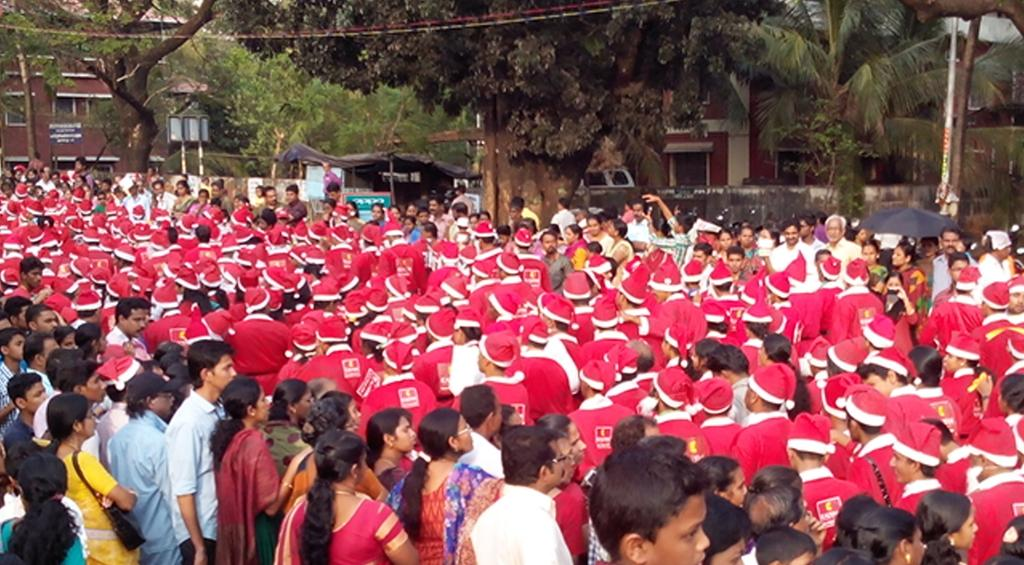 Buon Natale Thrissur.Raison Rappai On Twitter Ndtv Awesome Christmas Carol With Gwr