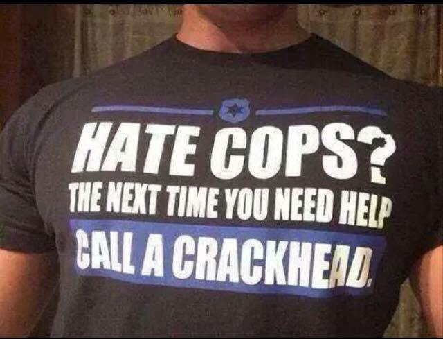 That about sums it up. #ILoveCops #PoliceLivesMatter http://t.co/NeuuJvzX06
