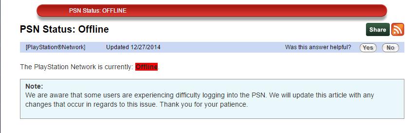 25 Décembre : Impossible de se connecter au PSN et au Xbox Live B54nDVaCQAAMMgv