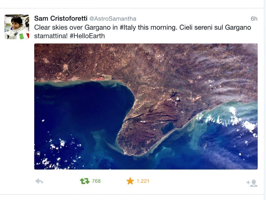 Terremoto Oggi Sud Italia (PUGLIA) in tempo reale: Parco Nazionale del Gargano (Foggia)