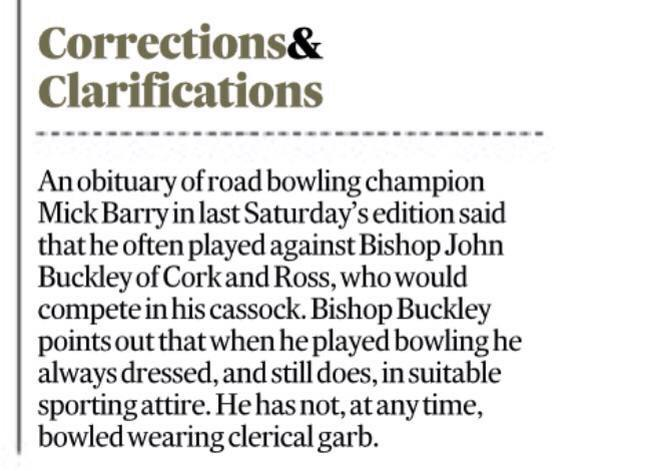 "Correction  of the year in @IrishTimes  http://t.co/rmITHUIlVb"""