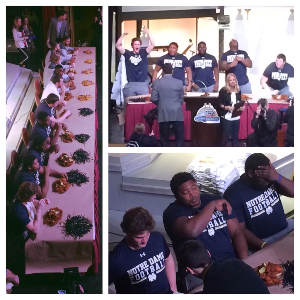 SEC pride shaken after LSU loses eating contest to Notre Dame