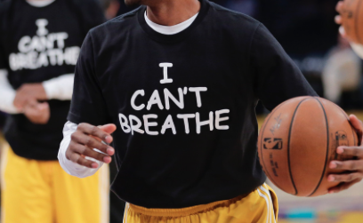 High school basketball teams kicked out of tournament for wearing 'I Can't Breathe' shirts http://t.co/uaYnHT9NDJ http://t.co/DVS8kh2DaD