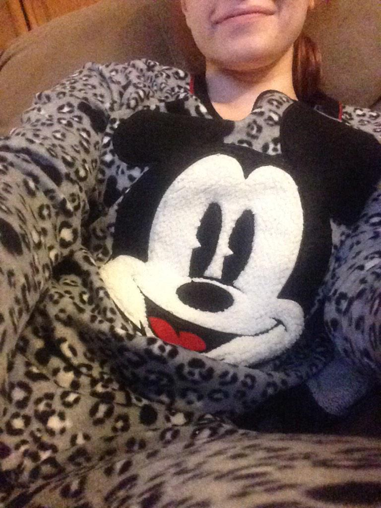 My new matching jammies. Get on my level. #didney pic.twitter.com/6v2At0iplF