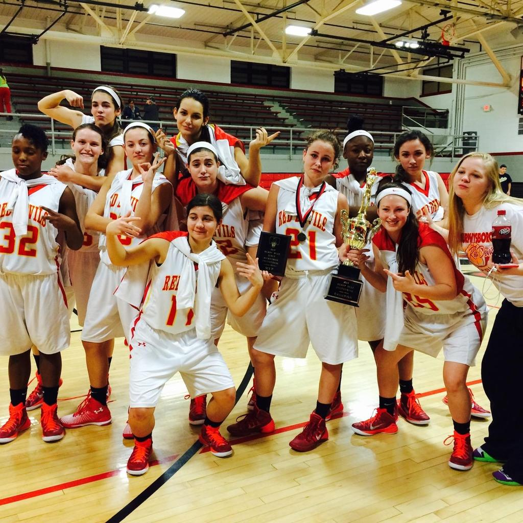 2014-15 Fairfield Girls Basketball Trny Champions ~ Murphy Red Devils<br>http://pic.twitter.com/PZqCSIpJWf